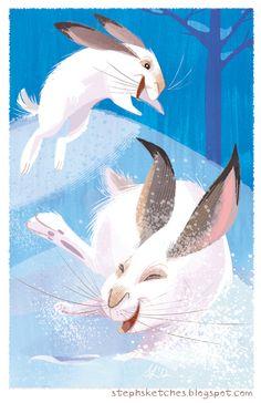 Snowshoe Follies by Steph-Laberis.deviantart.com