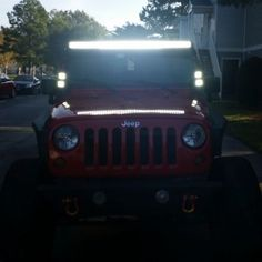 Jeep does need some lights.