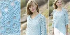 Sky Love Crochet Poncho | Your Crochet