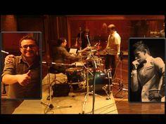 """ALEJANDRO PRECIADO - Grabando Percusiones.  En ABRIL 2013 -  En """"AudioVision Studios"""" el sonido de batería se logró con Nelson Amarillo."""