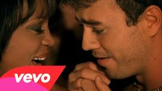 Whitney Houston with Enrique Iglesias - Could I Have This Kiss Forever....Sublime grazie grazie grazie!! <3