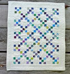 DQS11 Quilt, finished, and in the mail, hope you like it partner! by shecanquilt, via Flickr