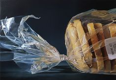 Dutch photo-realistic painter Tjalf Sparnaay creates delicious portraits of food that are so detailed and sumptuous you might catch yourself reaching out for a bite.