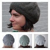 Remember the Day Beret ? And the Early Morning Beret ? Knitters have been asking me if these berets will be available in other gauges. Here is the Simple Beret , written for fingering, sport, worsted and bulky weight yar Knitting Yarn, Free Knitting, Easy Knitting Projects, Knitting Ideas, Simple Knitting Patterns, Creative Knitting, Knitting Tutorials, Hat Patterns, Diy Projects