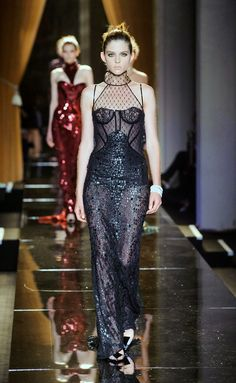 Versace Haute Couture fall/winter. Paris
