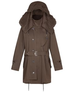 Sandro - Ground Crew (KHAKI PARKA) - $825.00