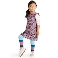 Pop Art Stripe Stretch Legging