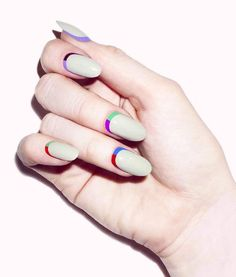 Latest nail art designs for women, Get ready for some manicure magic as we bring you the hottest nail designs from celebrities nail designs. Diy Nails, Cute Nails, Pretty Nails, Nail Art Instagram, Moon Nails, Nagellack Trends, Manicure Y Pedicure, Fabulous Nails, Creative Nails