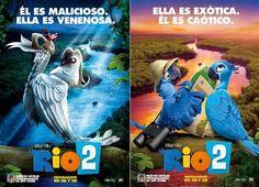 """NUEVO TRÁILER EN ESPAÑOL de 'Río 2′ es un éxito mundial para el estudio  BlueSky, """"regresa""""  a la gran pantalla en abril del año que viene para contarnos la historia de  Blu, Perla y sus pequeños. La secuela ha sido dirigida por Carlos Saldanha ('Ice Age'), cuenta con música de  Sergio Mendes, una leyenda de la música de Brasil. Pero en esta ocasión, su trabajo se nutre de la presencia del gran compositor John Powel."""
