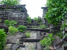Nan Madol is located at the eastern coast of Pohnpei, Micronesia, and is unique in the whole world.