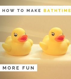 How do you make the whole bath time routine lots more fun and less of a chore – for children and parents?   Eliza's always had a bit of a love-hate relationship with the bath. The first time we put her in it she screamed the house down, which was slightly alarming to our first-time …