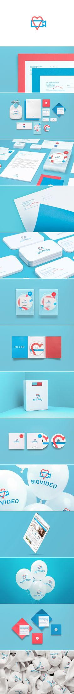 BioVideo — The Dieline - Branding & Packaging Design - created via https://pinthemall.net