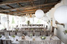 Langkloof Roses Wedding Venue - the Veranda www.langkloofroses.co.za Rose Wedding, Wedding Pics, Wedding Venues, Wedding Ideas, Food Table Decorations, Chinese Lanterns, Wedding Colors, Color Schemes, Centerpieces