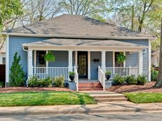 Completely Renovated 1905 Midwood Bungalow in Charlotte, NC.