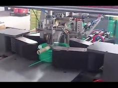 Automatic wire coiling & packing machine/cable coiling machine