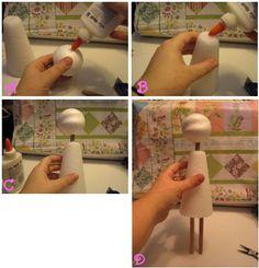 Мобильный LiveInternet Мастер-класс по изготовлению куклы в смешанной технике. | BBardo - BBardo |