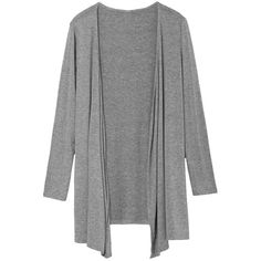 Womens Slimming Long Sleeve Cardigan Gray ($16) ❤ liked on Polyvore featuring tops, cardigans, jackets, grey, cardigan top, grey top, slim fit cardigan, long sleeve tops and grey long sleeve top