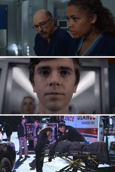 The Good Doctor went all out with 'Not Fake' as a bus crash brought many patients to St Bonaventure hospital. Tv Series 2017, Drama Tv Series, Good Doctor Series, Saint Bonaventure, Savant Syndrome, Jasika Nicole, Antonia Thomas, Shaun Murphy, Freddie Highmore