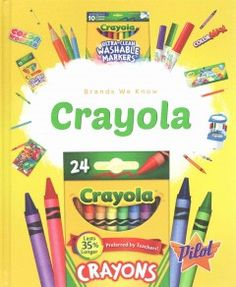 Engaging images accompany information about Crayola. The combination of high-interest subject matter and narrative text is intended for students in grades 3 through 7.