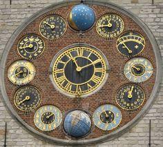 / astronomical clock /