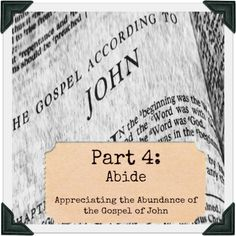 """Today is """"Stir Up"""" Sunday! Find out what that means and why I am excited about today's focus on the concept of what it means to abide…"""