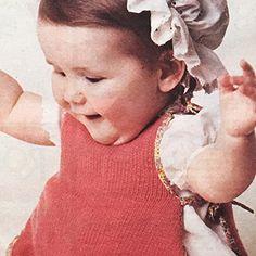 'n Groooot vorskoot vir lekker mors Baby Knitting Patterns, Crochet, Face, Fashion, Moda, Fashion Styles, Chrochet, Fasion, Crocheting