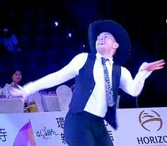 Shane McKeever from Ireland doing his solo performance at the World Dancesport Games 2013