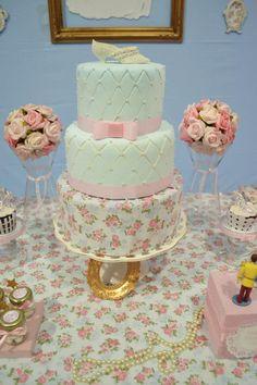 bolo festa cinderela