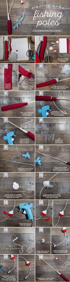DIY Fishing Rod Tutorial by Michaels Makers Lia Griffith