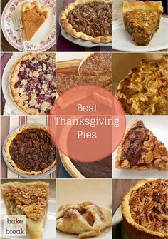 Best Thanksgiving Pies - Bake or Break