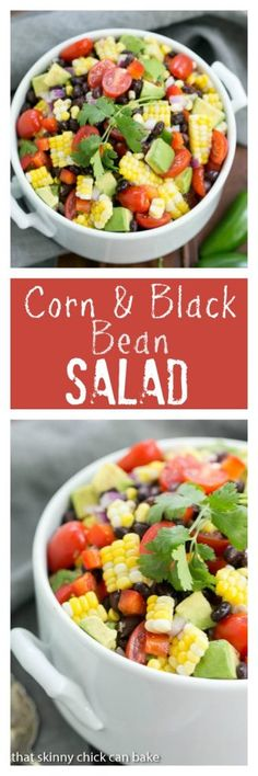 and Black Bean Salad | The best of summer in one fresh, amazing salad ...