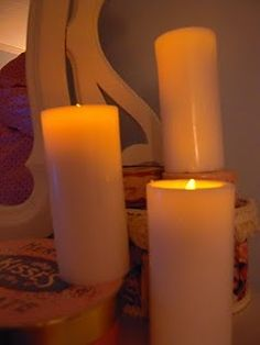 Make your own flameless candles with any candle