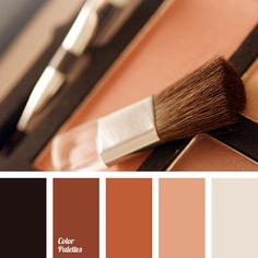 beige and brown, black, black and red, copper, cream beige, golden brown, monochrome brown palette, monochrome color palette