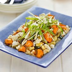 Quinoa Salad With Roast Vegetables