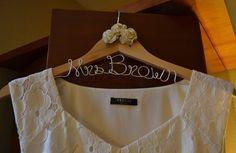 Customised Wedding Dress hanger 💖