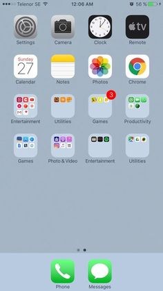 33 Best Iphone Home Screen Layout Images On Pinterest In 2018