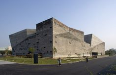 ningbo history museum, 2003-2008, ningbo, china.