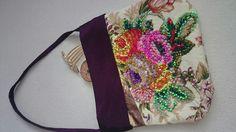 Šitá taška s  gorálkovou výšivkou