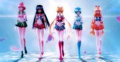 Sailor Moon Crystal 2014. via: http://benjandan.tumblr.com/