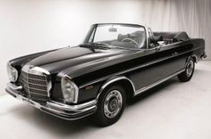 Mercedes 280SE Convertible Euro Headlights