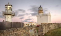 New and Old Lighthouse at Fraserburgh by Stuart Fenty on 500px