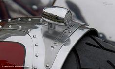 Airstream Chopper Fender Detail