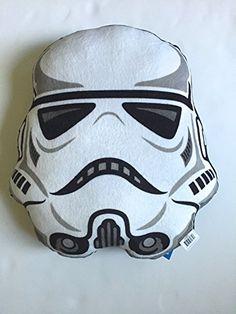 """Star Wars Storm Trooper Pillow. 14"""" X 13"""" Star Wars http://www.amazon.com/dp/B00PWSGJE6/ref=cm_sw_r_pi_dp_JHnJvb0CKAX8W"""