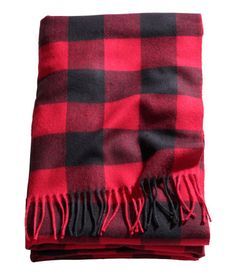 H&M Plaid Throw $34.95