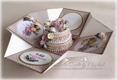 Cardville- Cards by Elizabeth: DT CMN: Fancy Fold