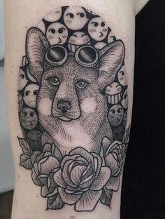 Susanne Konig fox tattoo