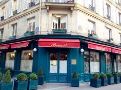 Marais | Benoit Restaurant (20 rue Saint-Martin, Paris, Île-de-France) | Restaurante francés