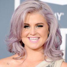 Kelly Osbourne Silver Lavender