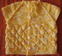 Sarı Bebek Yeleği Yapılışı