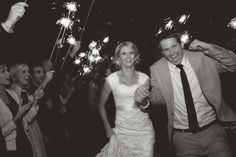 have sparklers at my wedding